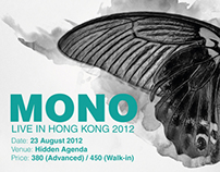 MONO LIVE IN HONG KONG 2012 PROMOTION
