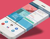 GREEB - Mobile Website Concept