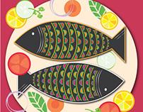 Coastal Food Festival Posters