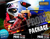 Magnum Paintball Flyer