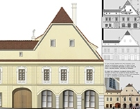 Restoration project in Sibiu
