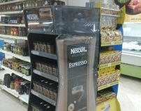 Nescafe espresso Display