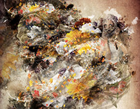 "Biggest Digital piece ever! ""Beauty in Contrast"" Pt1"