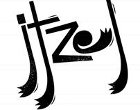 ITZEL FLOW Font Display
