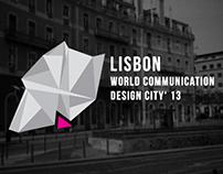 Lisbon. WCDC '13 Brand Identity
