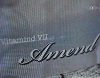 Vitamind VII - 'Amend'