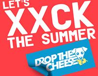 Drop The Cheese Sticker Designs