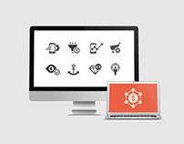 SEO // Internet marketing icons