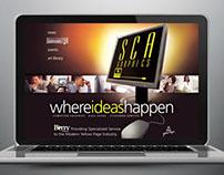 SCA Graphics Intranet Site