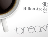 HILTON // Print works