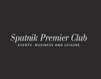 "Logo and Web-site for ""Sputnik Premier Club"""