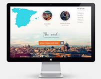 UI/UX Design for a Start-up based in Madrid