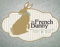 """Logo """"The French Bunny"""""""