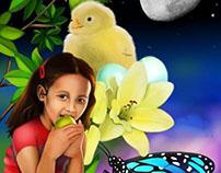 Illustrations for Primary School Books