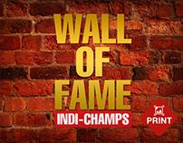 Wall Of Fame - Indi Champs