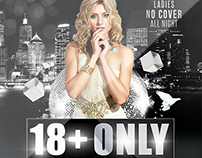 18+ Only / VIP | Flyer + FB Cover