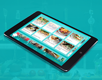 Recipe App for iPad