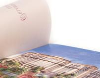 Ravallo condo-hotel 16-page brochure + vellum/foil fly