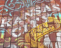KANSAS CITY CHALK TYPOGRAPHY