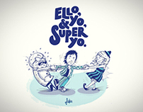 Ello, Yo, y Super Yo. | Cuento Ilustrado y Serigrafiado