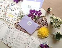 Summer Delights Wedding Stationery Design