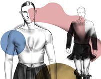 J.W. Anderson Illustrated Editorial for Visual Tales
