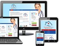 NosokomaThess: Responsive Website Design