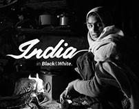 INDIA in Black& White