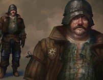 Witcher 3: Wild Hunt - characters concepts