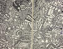 Sketchbook drawings