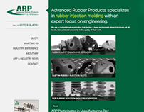 Advanced Rubber Products Website Redesign