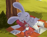 Bunny Rest