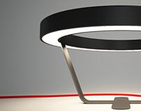 XO bedside table lamp
