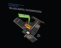Blue Limits Brochure design