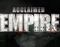 Tribute to Boardwalk Empire Title, FX animation.