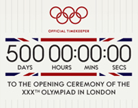 500 days to London 2012 Olympic Games