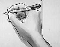Sketching and storyboarding