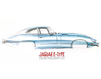 NEW FOREST CLASSIC CARS - Sketches