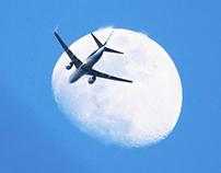 Fotografía Cielos y aviones