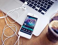 Music AMP - mobile app