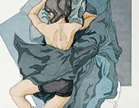 Sketches - Girls sleeping