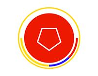 Colombian football logos.