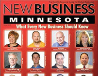 Featured on cover of New Business Minnesota