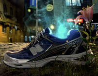 new balance | running green