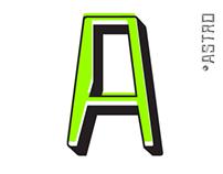 ASTRO: FREE TYPEFACE