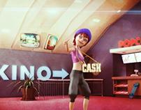 Ceska Sporitelna CASH dance game