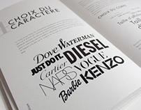 Manuel de Typographie