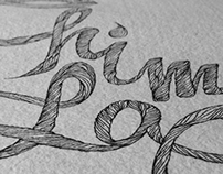 """""""Chim Lac"""" Lettering"""