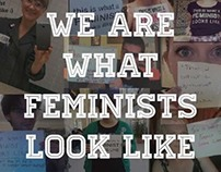 We are what feminists look like