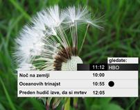 IPTV UI prototype